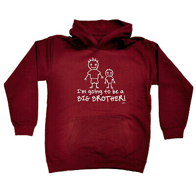 Funny Kids Childrens Hoodie Hoody - Im Going To Be The Big Brother