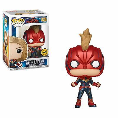Funko Pop! Captain Marvel #425 Chase Limited Edition Masked In Hand!!