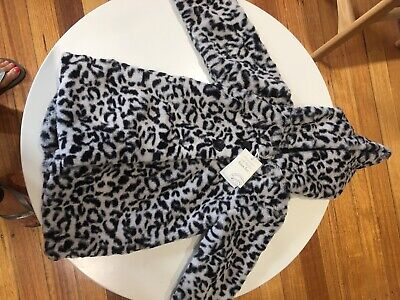 Faux Fur Baby Girl Jacket Size 12-18 Months Brand New