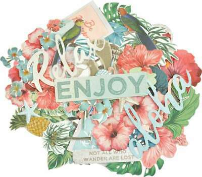 Kaisercraft Collectables Cardstock Die-Cuts Paradise Found 883416059554