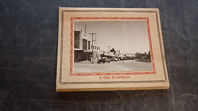 AUSTRALIAN OLD SOUVENIR GREETING CARD, 1940s BARMERA SOUTH AUSTRALIA