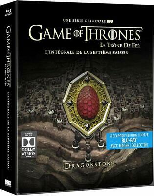 Game of Thrones - Blu Ray Steelbook Magnet Collector - Saisons 7 - Neuf Blister