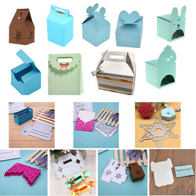 Gift Box Metal Cutting Dies Stencil DIY Scrapbooking Embossing Card Paper Craft