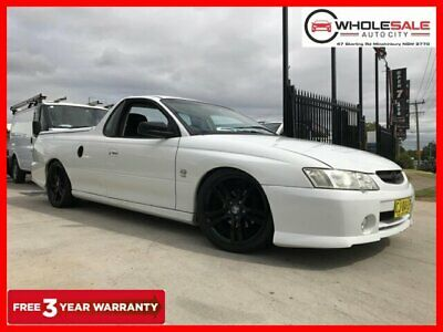 2003 Holden Ute VY S Utility Extended Cab 2dr Auto 4sp 710kg 3.8i White A