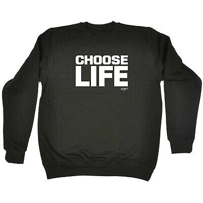 Funny Kids Childrens Sweatshirt Jumper - Choose Life