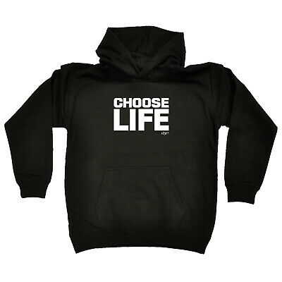 Funny Kids Childrens Hoodie Hoody - Choose Life