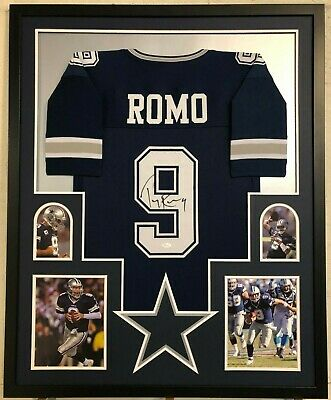 TONY ROMO AUTOGRAPHED Signed Dallas Cowboys Jersey 100% Authentic ... 474a7eb23