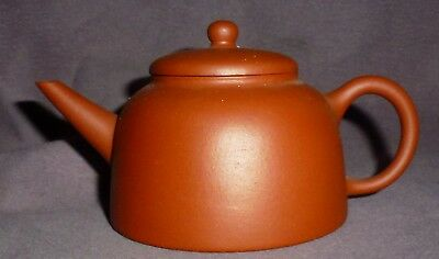 Old Yixing Teapot Signed Part of the D&S Howlett Collection Very Fine