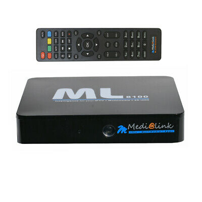 Medialink ML8100 4K IPTV Android BOX UHD 2160p Stalker | Netflix Bluetooth WLAN