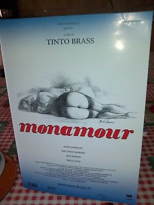 """Dvd Film + Cover """"monamour"""" -Tinto Brass - 2005 - 87 M.-Perf."""
