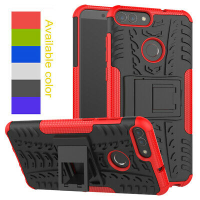 Hybrid Rugged Shockproof Case Heavy Duty Armor Cover For Huawei P Smart 2019