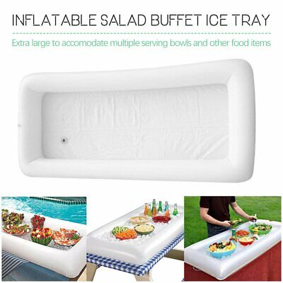 Inflatable Picnic Drink Table Serving Bar Salad Buffet Cooler Party Camping 5P
