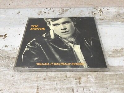The Smiths William It Was Really Nothing CD Single RTT 166 Rough Trade Morrissey