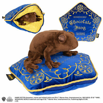 Harry Potter Chocolate Frog Plush and Pillow Noble NN8922