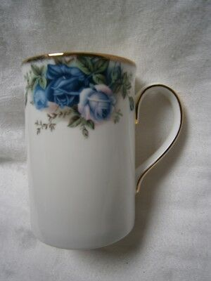 "VINTAGE c 1987 ROYAL ALBERT "" MOONLIGHT ROSE "" DESIGN MUG."