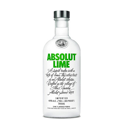 Absolut Lime Vodka 40% 700mL FAST DELIVERY & FREE SHIPPING