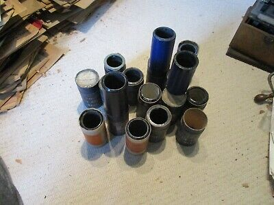 17 good/very good Edison Blue Amberol 4 minute untried phonograph cylinders