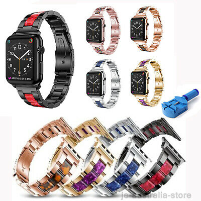 38/40/42/44mm Stainless Band Metal Strap Bracelet For Apple Watch iWatch 5 2 3 4