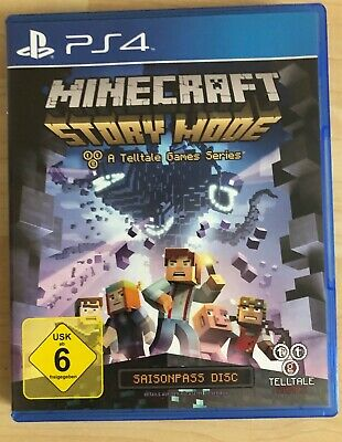 Minecraft: Story Mode - Sony PlayStation 4 / PS4 Spiel