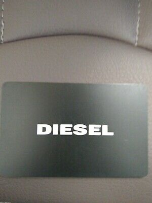 Diesel In Store Gift Card £65 Value
