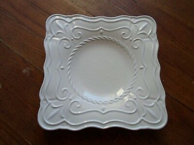 Lenox BUTLER'S PANTRY PATISSERIE Square Salad/Accent Plate