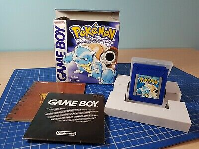 Pokemon Versione Blu Game Boy Completo PAL