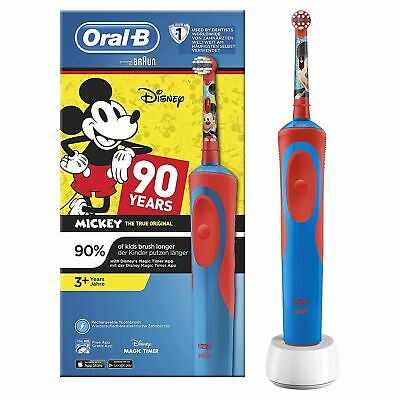 Oral-B Stages Kids Electric Rechargeable Toothbrush Disney Mickey Mouse 90 Years