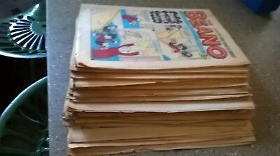 50 Beano comics from 1975..Including Christmas Issue