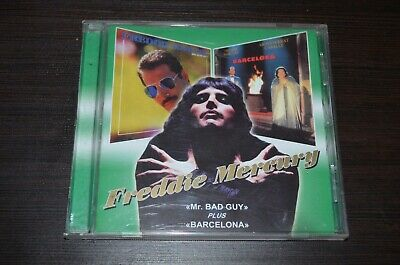 freddie mercury mr.bad guy / barselona 2 cd russia