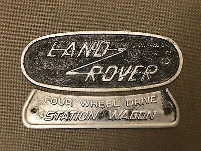 Badge Land Rover Series