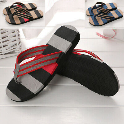 154bf91e2036 Mens Urban Beach Pool Holiday Gym Shower Flip Flops Mules Summer Sandals  Size