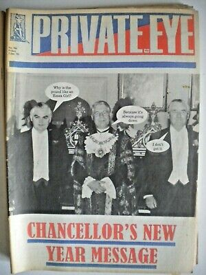 PRIVATE EYE Magazine x 6 Issues - 1992