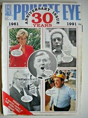 PRIVATE EYE Magazine x 3 Issues - 1991