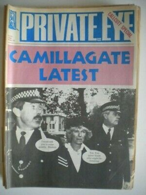 PRIVATE EYE Magazine x 11 Issues - 1993