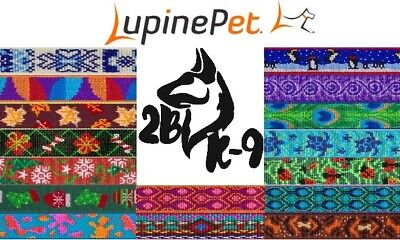 Lupine Dog Collars - Multiple Designs Available! *Lifetime Guarantee*