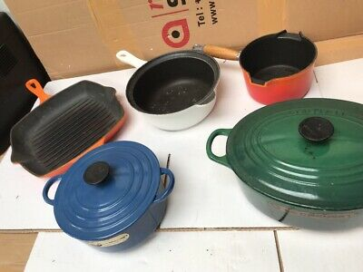 Collection Of Le Creuset Dishes  And Pans