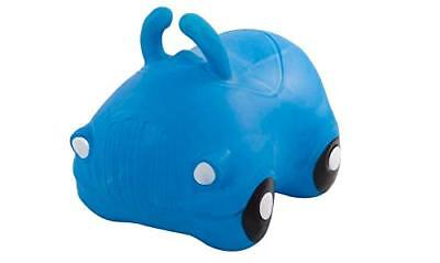 Kids' Bouncy Blue Car Hopper Inflatable Bouncer Toy Bouncing car Ride-On Toys