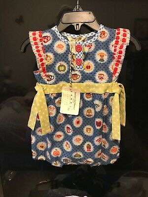 a9b29b57576f NEW MATILDA Jane Fruit Salad Romper Size 3-6 months Baby Girl ...