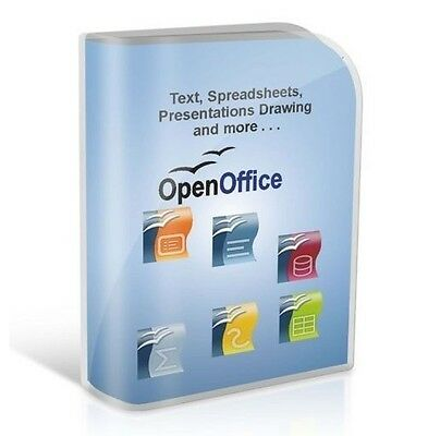 Open Office 2013 - Great for Home & Professionals - For Microsoft Windows 2018