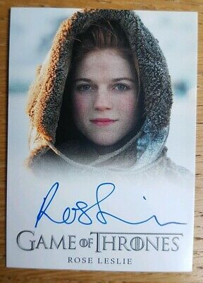 Rittenhouse Game Of Thrones Season Two Auto Rose Leslie