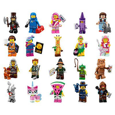 LEGO 71023 MINIFIGURES SERIE THE LEGO MOVIE 2 - SCEGLI il personaggio o la serie