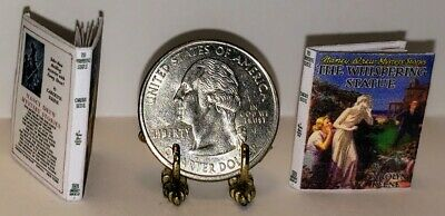 1:12 Scale Miniature Book The Whispering Statue Nancy Drew Illustrated