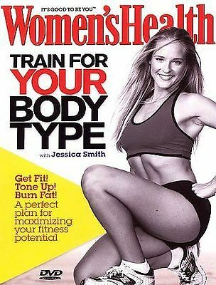Womens Health - Train for your Body Type (DVD, 2006) NEW