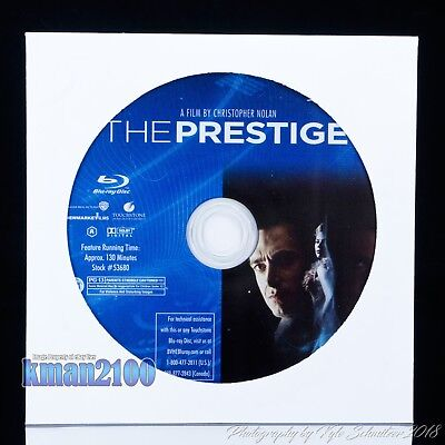 The Prestige (Blu-ray, 2007) BLU-RAY DISC ONLY...CASE & ARTWORK NOT INCLUDED