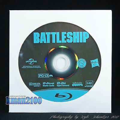Battleship (Blu-ray, 2012) BLU-RAY DISC ONLY...CASE & ARTWORK NOT INCLUDED!!!