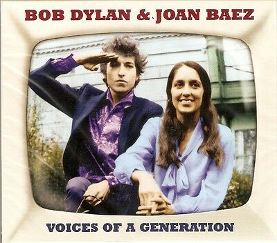 Bob Dylan & Joan Baez - Voices Of A Generation 2CD NEW/SEALED