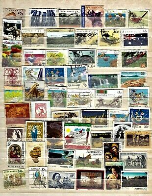 Australia collection.......album page with used stamps
