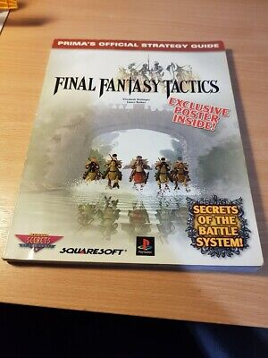 Final Fantasy Tactics - Prima Official Strategy Guide - PlayStation / PS1