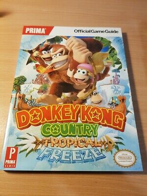 Donkey Kong Country Tropical Freeze - Official Strategy Guide - NEW
