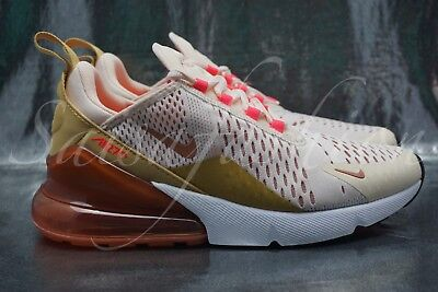 outlet store 6d8be 33880 NIKE AIR MAX 270 Women's AH6789-801 Guava Ice Wheat Pink Running Shoes Size  7